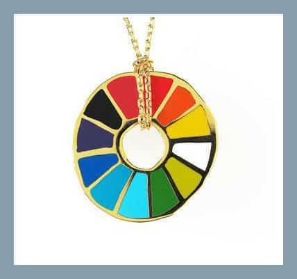 Color Wheel Pendant | The Mindful Shopper