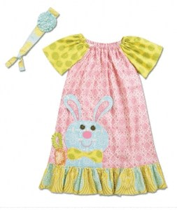 Bunny Peasant Dress | Darling Easter Basket Ideas | The Mindful Shopper