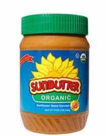 Organic Sunbutter | Favorite Gluten-Free and Dairy-Free Snacks | The Mindful Shopper