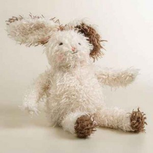 Scraggle Plush Bunny | Darling Easter Basket Ideas | The Mindful Shopper