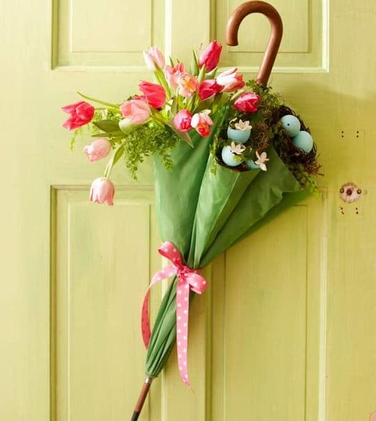 Easter Door Umbrella Decoration from Better Homes and Gardens