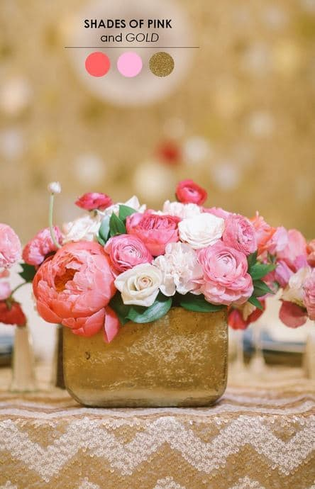 Elegant Centerpiece featured on The Perfect Palette
