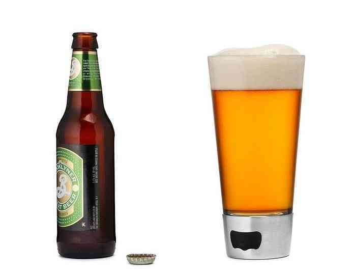 Beer Opening Glass | Gifts For Guys