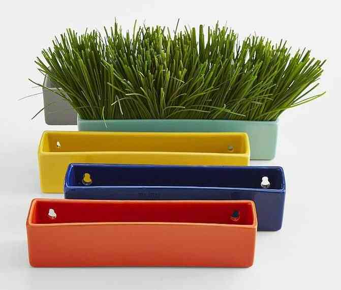 Colorful Wall Planter Bricks | Decorate Your Home with These Bold and Beautiful Colors of Summer | The Mindful Shopper