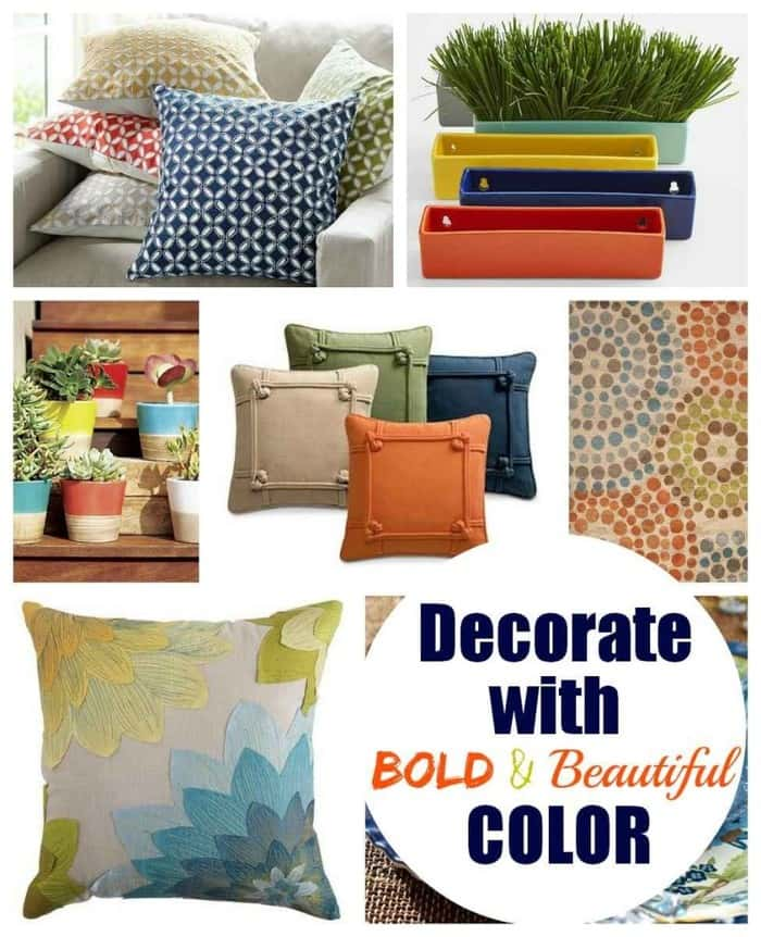 Decorate With These Bold and Beautiful Summer Colors | The Mindful Shopper