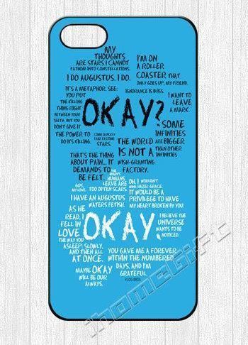 Giveaway Phone Case The Fault In Our Stars | The Mindful Shopper