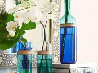 Split-Top Bottle Vases