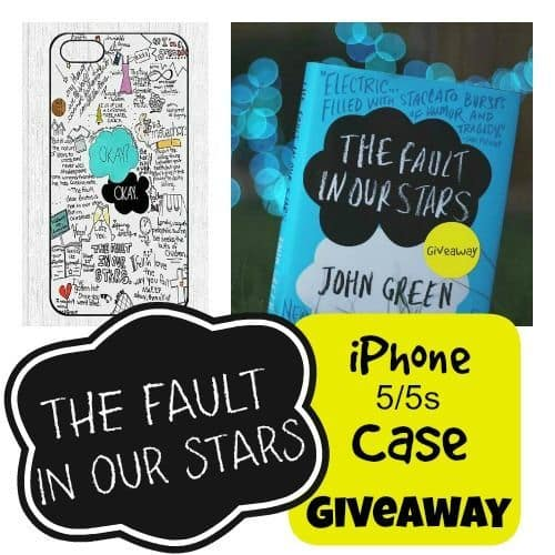 The Fault In Our Stars iPhone Case Giveaway | The Mindful Shopper