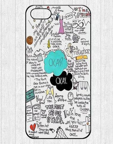 The Fault In Our Stars Phone Case Giveaway | The Mindful Shopper