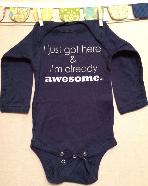 Already Awesome Onesie | Adorable Baby Onesies