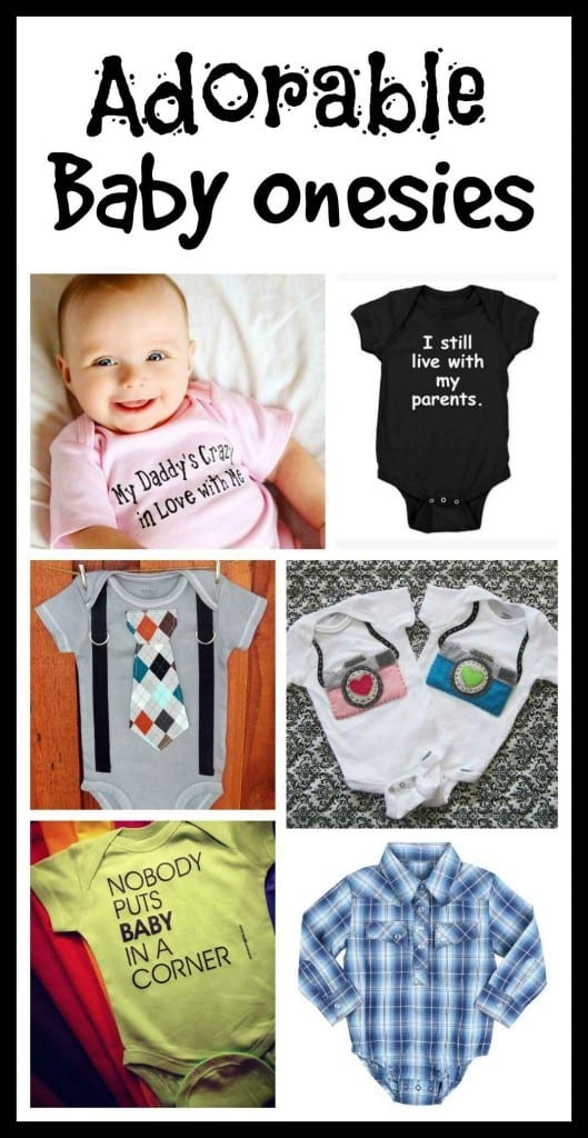 Adorable Baby Onesies | The Mindful Shopper