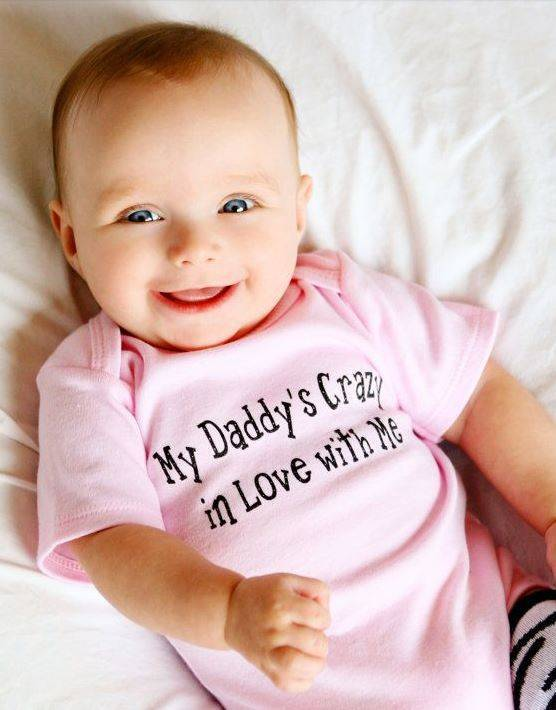Crazy In Love With Me Onesie | Adorable Baby Onesies