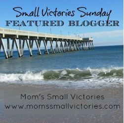 Small Victories Sunday Featured Blogger 250x250