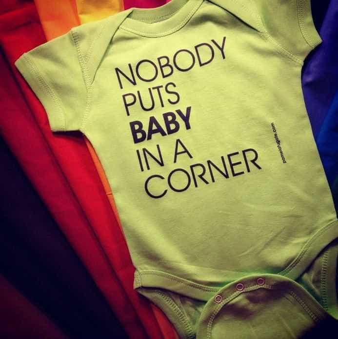 Nobody Puts Baby In A Corner Bodysuit