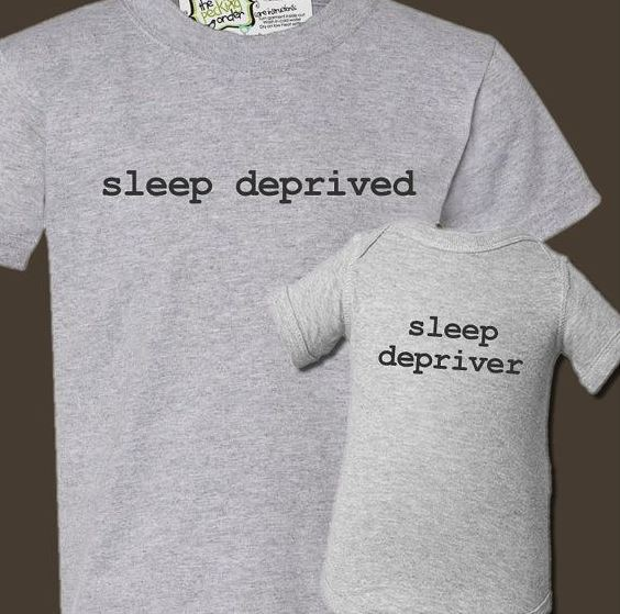 Sleep Depriver Onesie with Matching Dad T-Shirt | Adorable Baby Onesies