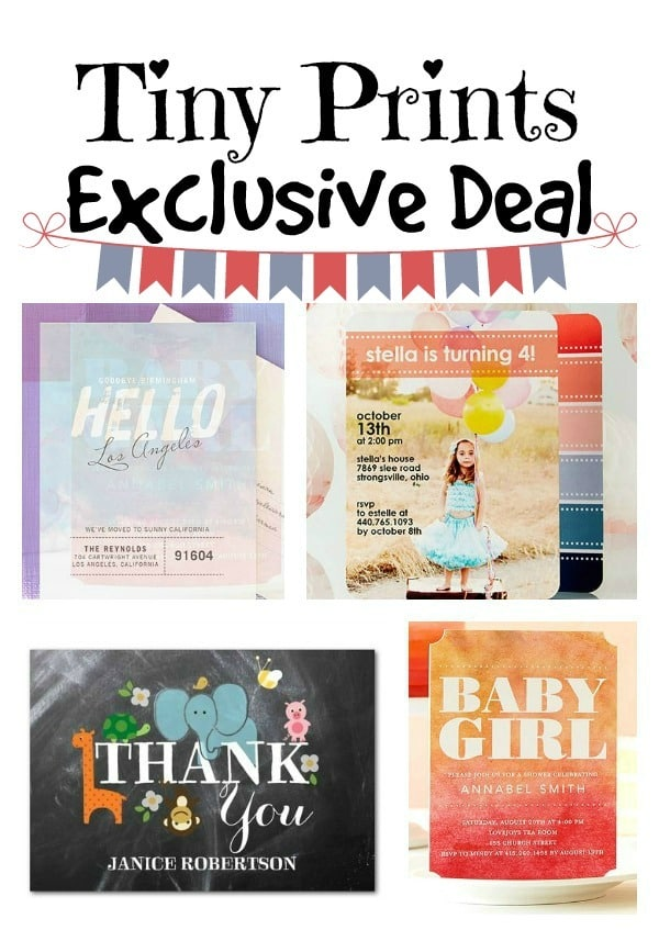 Exclusive Tiny Prints Deal | The Mindful Shopper