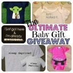 The Ultimate Baby Gift Giveaway