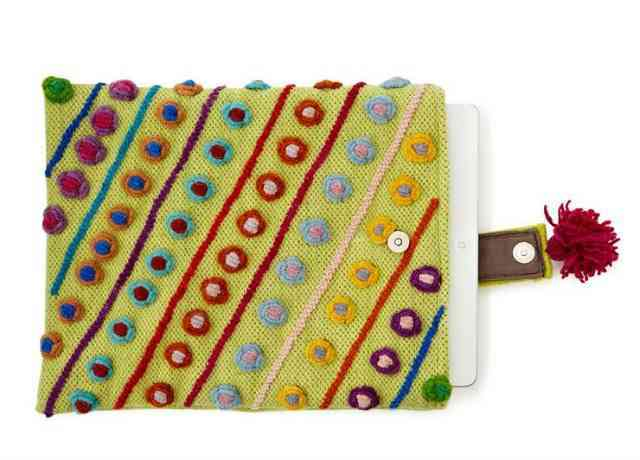 Embroidered iPad Case | Fabulous Sale at Uncommon Goods | The Mindful Shopper