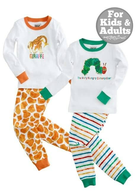 Gymboree and Eric Carle Sleepwear Collection | The Mindful Shopper