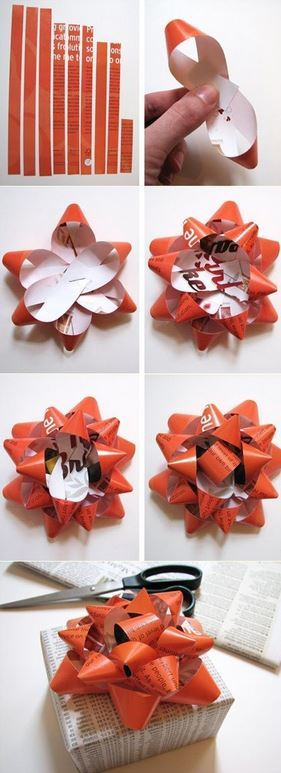 Magazine Gift Bow from How About Orange