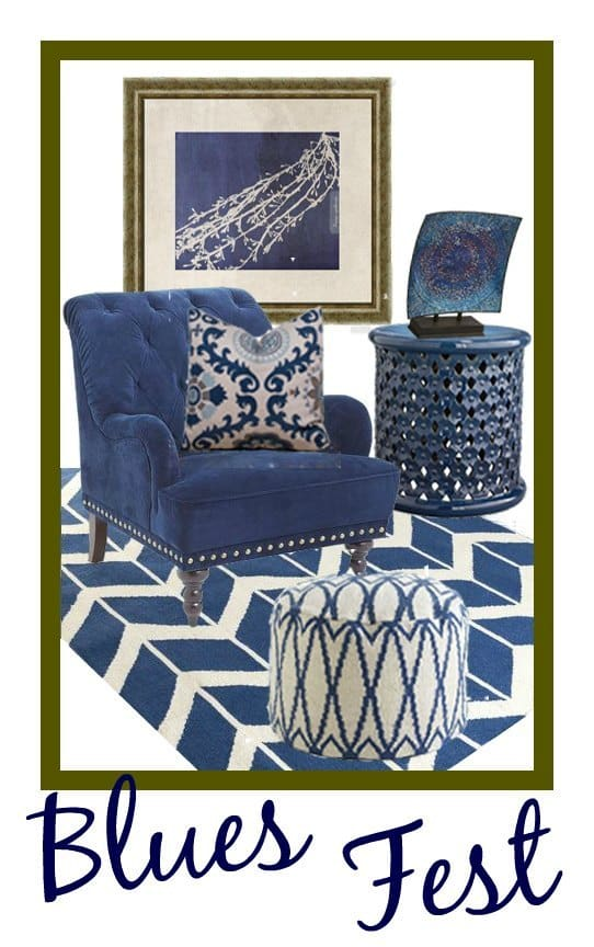 Blues Fest | Easily Update Your Home Decor | The Mindful Shopper
