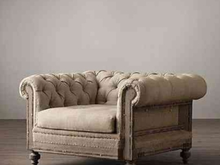 Chesterfield Upholstered Chair
