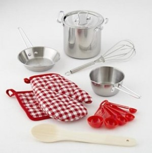 9-Piece Play Cooking Set