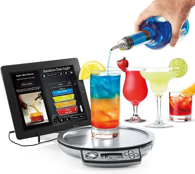 Perfect Drink App-Controlled Bartending