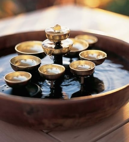 Water Bell Fountain