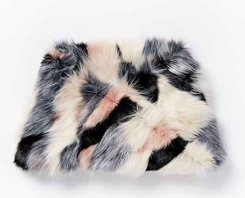 Faux Fur Foxy Infinity Scarf