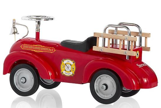 Fire Truck Ride-On