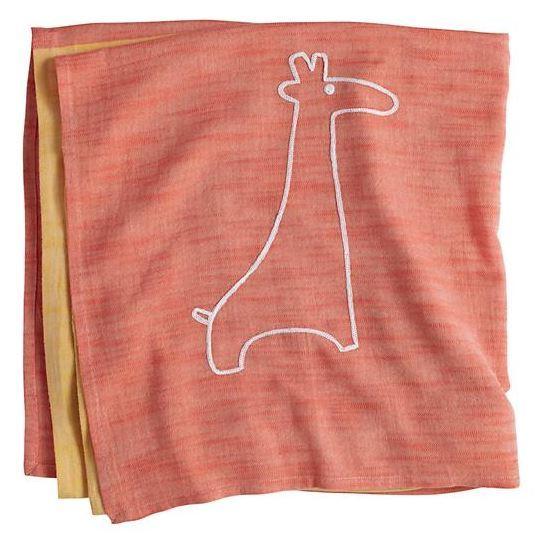 Giraffe Mod Menagerie Swaddle Blanket