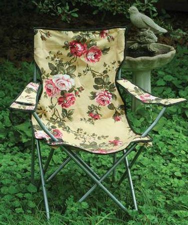 Glamping Chintz Lawn Chair
