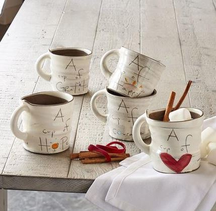 Handmade A Cup of Sentiment Mugs
