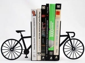 Handmade Bike Bookends