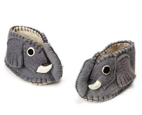 Handmade Elephant Booties