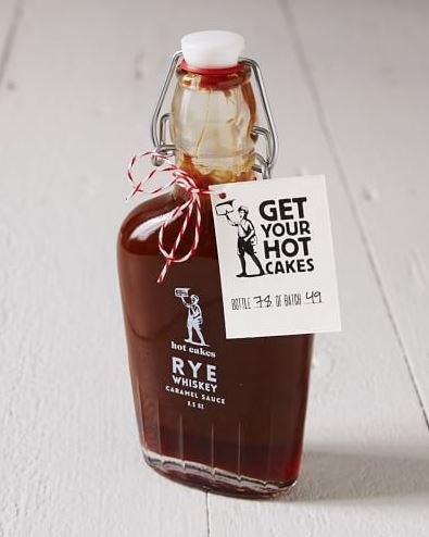 Hot Cakes Rye Whiskey Caramel Sauce