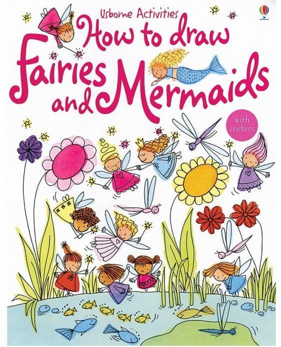 How to Draw Fairies and Mermaids Craft Book