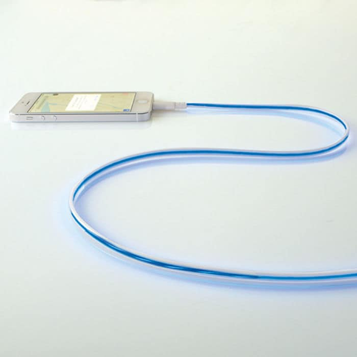 Illuminated Charging Cable with Lightning Connector