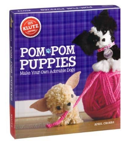 Make Your Own Pom Pom Puppy Craft Kit