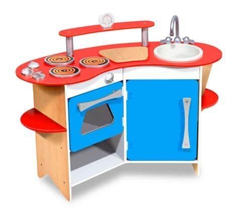 Melissa & Doug Corner Wooden Kitchen