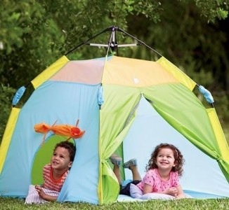 One Touch Set-Up Play Tent