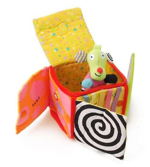 Peek-o-Fabric Activity Box