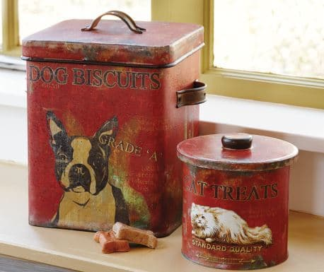 Pet Treat Tins