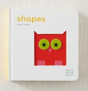 Shapes Touch Think Learn Book