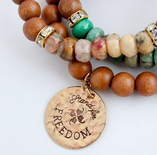 Stand For Freedom Bracelet