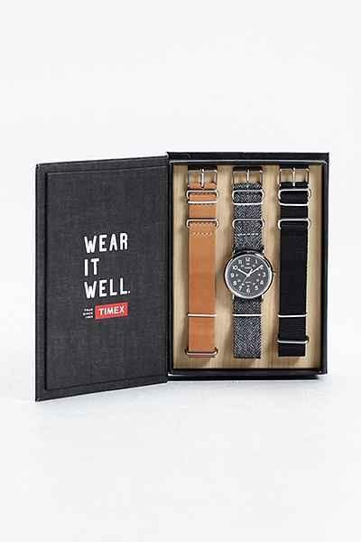 Timex Tweed Strap Weekend Watch Box Set