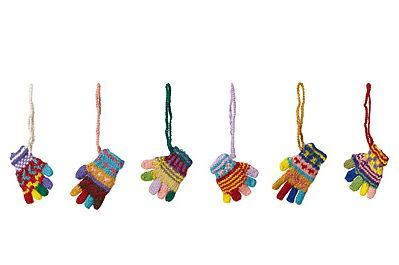 Uncommon Goods Peruvian Knit Gloves Ornaments