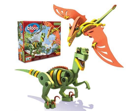 Velociraptor & Pterosaur Building Set