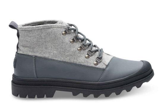 Water-Resistant Castlerock Wool Cordova Boots